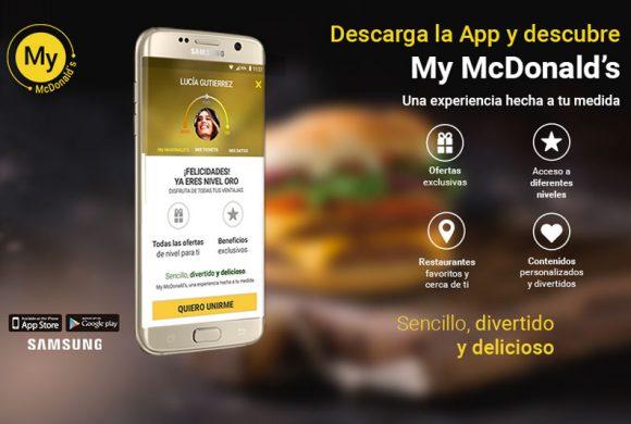 Descarga la App de Mc Donalds
