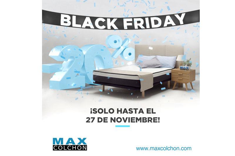 MAXCOLCHÓN BLACK FRIDAY